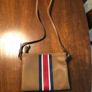 Old Navy striped crossbody purse